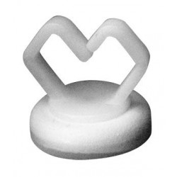Mag Daddy Small Magnetic Cable Holder (white)