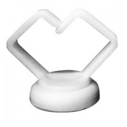 Mag Daddy Medium Magnetic Cable Holder (white)