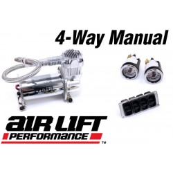Air Lift Performance 4-Way Manual Package