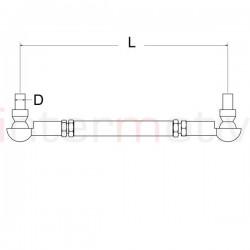 Adjustable Drop Link Kit (pair) M12 - 250-300mm
