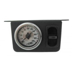 Single Needle Gauge Panel with one paddle switch- 200 PSI