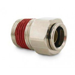 "Straight- Male 1/2"" NPT x 1/2"" Tube"