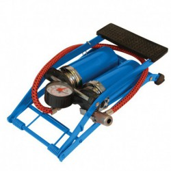 Foot Pump Heavy Duty Double Barrel