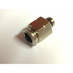 "Straight- Male 1/8"" NPT x 3/8"" Tube"