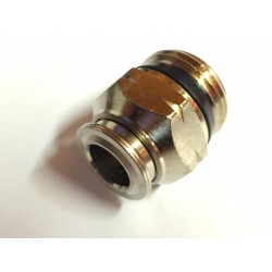 "Straight- Male 1/2"" NPT x 3/8"" Tube"