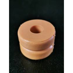 Shock mounted bump stop - 12.5mm ID x 35mm OD x 25mm L